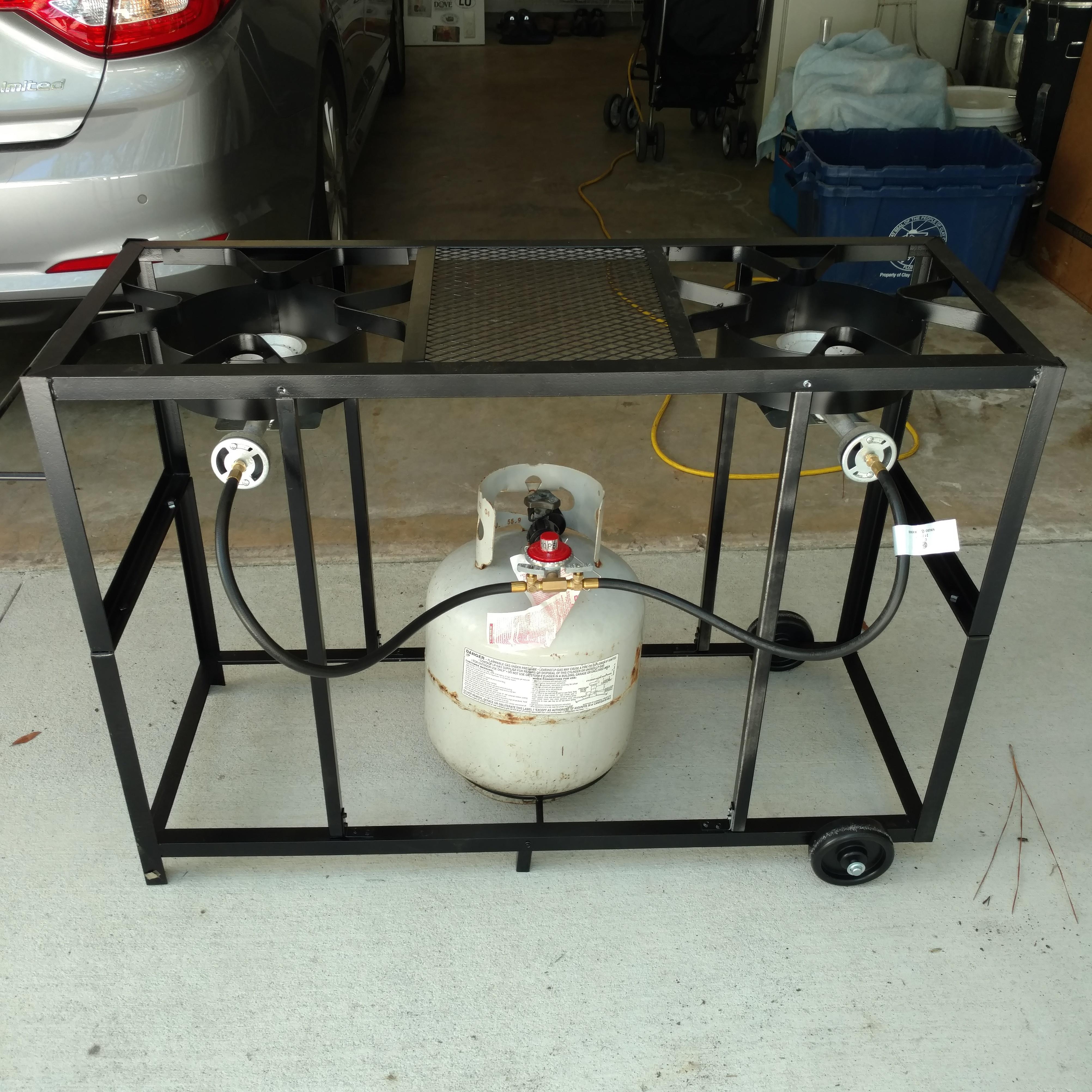 Dual Burner Brew Stand